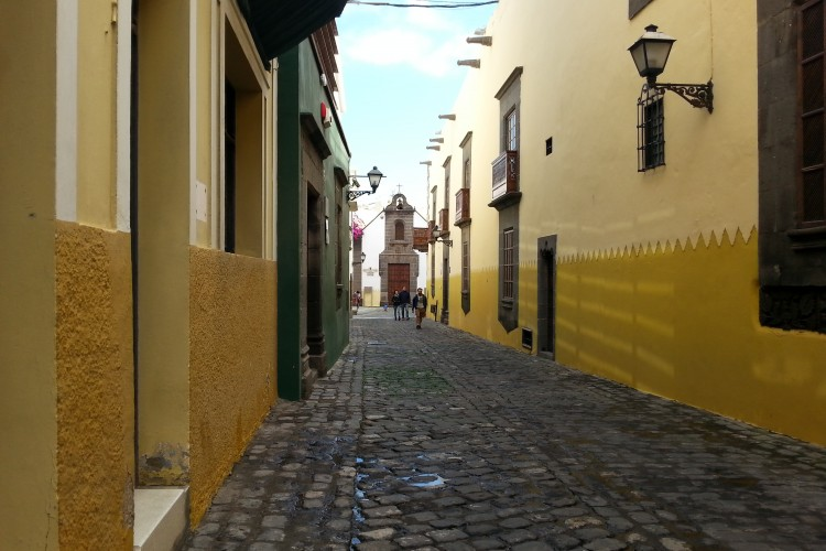 Vegueta - old town of Las Palmas