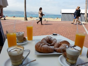 Breakfast in Las Palmas