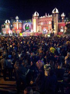 Carnival night in Santa Catalina