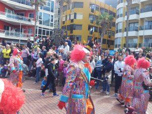 Clowns in las Canteras