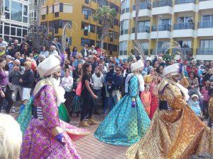 Dresses in Las Canteras