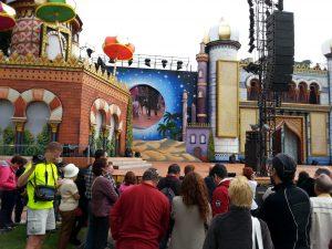 Stage in Santa Catalina