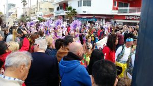 Celebration in Las Canteras
