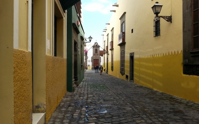 Vegueta - old town of Las Palmas