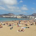 Gran Canaria in winter, Las Palmas beach, Aiport transfer