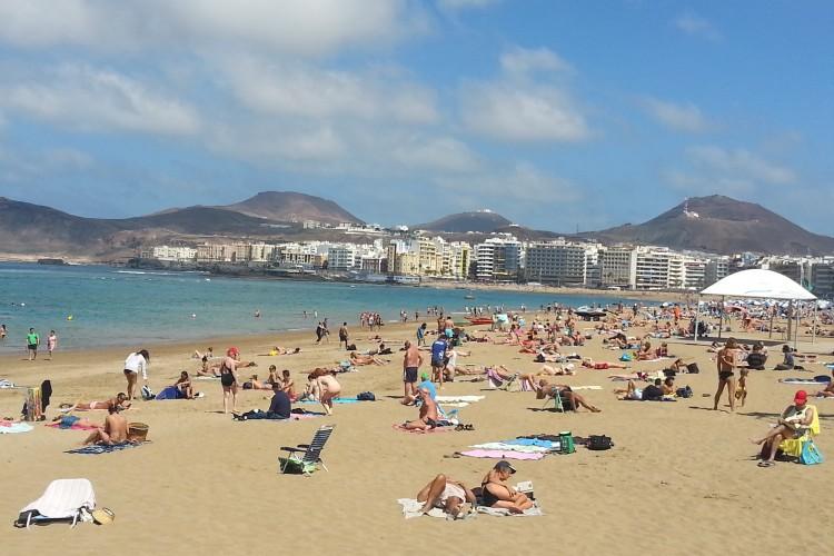 Las Palmas, Las Canteras beach