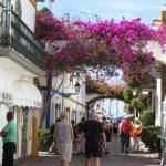 Spanish atmosphere in Puerto de Mogan