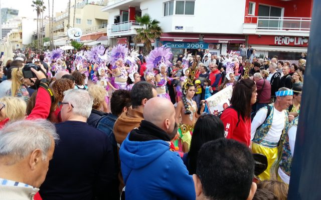 Celebration in Las Canteras